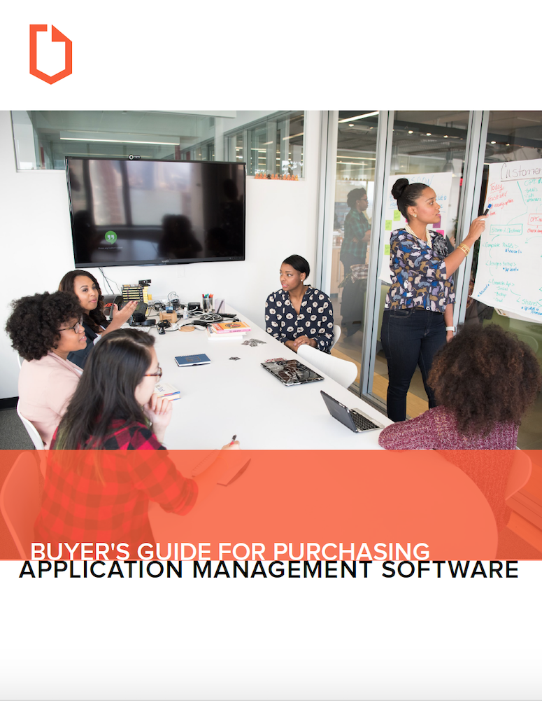 buyer's guide cover_application management